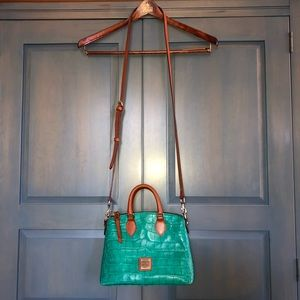 Dooney & Burke Small Turquoise Satchel Bag